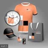 Diseño promocional de los elementos Fotos de archivo