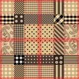 Diseño que acolcha Checkered. Imagen de archivo libre de regalías
