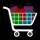 Diseño que hace compras invertido Foto de archivo