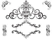 Diseño real dibujado mano del elemento ilustración del vector