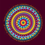 Diseño redondo colorido Foto de archivo libre de regalías