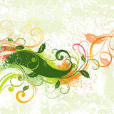 Diseño retro colorido Fotografía de archivo libre de regalías