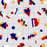 Diseño retro del fondo 80s del vintage ilustración del vector