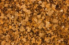 Diseño rico de lujo de la textura del fondo del grunge del vintage del andbackground amarillo abstracto con la pintura antigua el Foto de archivo libre de regalías