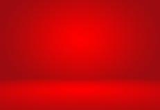 Diseño rojo abstracto de la disposición de las tarjetas del día de San Valentín de la Navidad del fondo, studi stock de ilustración