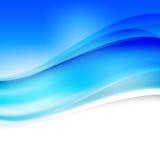 Diseño rojo abstracto del fondo del vector ondulado Fotografía de archivo libre de regalías