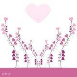 Diseño romántico del amor EPS10 Imagen de archivo