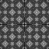 Diseño sagrado de la geometría del vector blanco y negro en Rhombus libre illustration