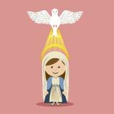Diseño santo libre illustration