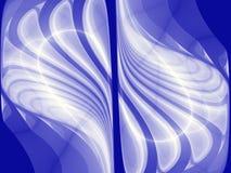Diseño simétrico de alta tecnología Imágenes de archivo libres de regalías