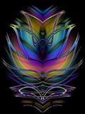 Diseño simétrico decorativo   ilustración del vector