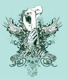 Diseño sucio de los pecados   stock de ilustración