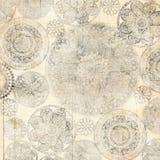 Diseño sucio del fondo de Doiley del cordón Imagen de archivo libre de regalías