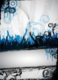 Diseño sucio del partido Imagen de archivo