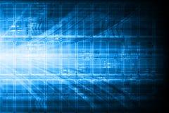 Diseño técnico azul Imagenes de archivo