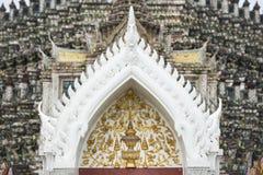 Diseño tailandés del modelo del estilo Foto de archivo libre de regalías