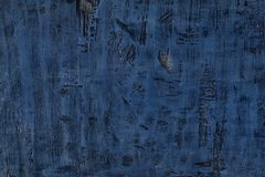 Diseño texturizado de madera azul del fondo imágenes de archivo libres de regalías