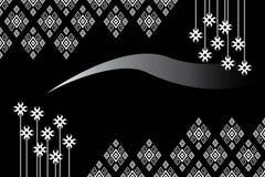 Diseño tradicional del modelo étnico geométrico para el fondo, alfombra, papel pintado, ropa, envolviendo, batik, tela, sarong Fotos de archivo