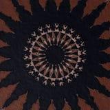 Diseño tradicional espiral foto de archivo libre de regalías