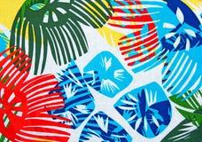 Diseño tropical Imágenes de archivo libres de regalías
