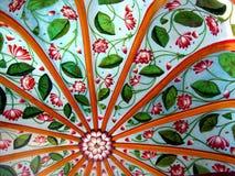 Diseño tropical de la tela Imagen de archivo