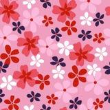 Diseño tropical de las flores stock de ilustración