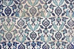 Diseño turco de la teja Imagen de archivo libre de regalías