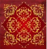 Diseño turco del otomano Foto de archivo