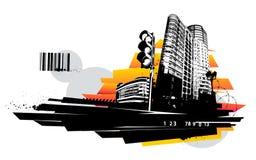 Diseño urbano libre illustration