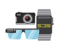 Diseño usable de la tecnología Imágenes de archivo libres de regalías