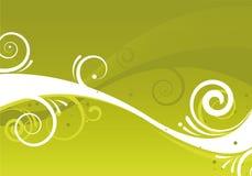 Diseño verde abstracto Fotografía de archivo libre de regalías