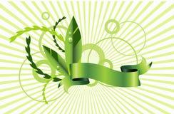 Diseño verde del eco Imagen de archivo libre de regalías