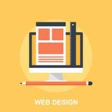 Diseño web Imágenes de archivo libres de regalías