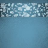 Diseño web azul abstracto del fondo de la burbuja Foto de archivo libre de regalías