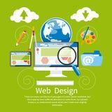 Diseño web Programa para el diseño y la arquitectura Imagenes de archivo