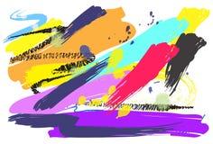 Diseño y cepillo del arte del fondo Imagen de archivo libre de regalías
