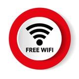 Diseño y smartphone modernos blancos rojos del vector del web del wifi libre libre illustration
