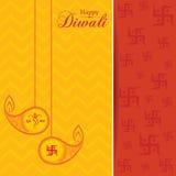 Diseño y texto elegantes para la celebración de Diwali