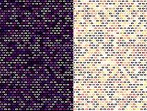 Diseños abstractos del modelo imagen de archivo