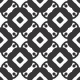 Diseños blancos negros de la repetición del vector Fotografía de archivo libre de regalías