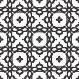 Diseños blancos negros de la repetición del vector fotos de archivo libres de regalías