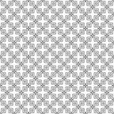 Diseños blancos negros de la repetición del vector Imagen de archivo