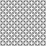 Diseños blancos negros de la repetición del vector Imagenes de archivo