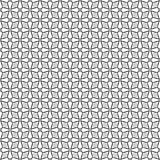 Diseños blancos negros de la repetición del vector Imagen de archivo libre de regalías