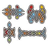 Diseños célticos del ornamental Imagen de archivo