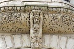 Diseños complejos tallados en piedra fotos de archivo