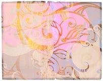 Diseños de Grunge en el papel viejo Foto de archivo
