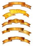 Diseños de la bandera de Grunge Imagen de archivo libre de regalías