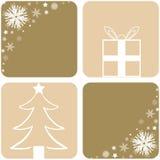 Diseños de la Navidad Imagen de archivo