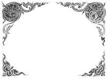 Diseños de la tiza de pizarra Imagen de archivo libre de regalías
